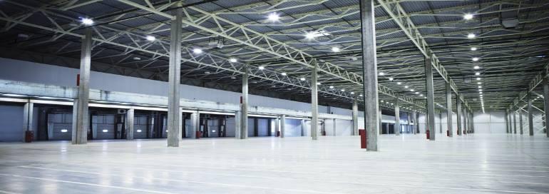 New Empty Warehouse